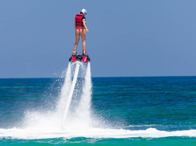 Flyboarding at Port Adelaide, eitw