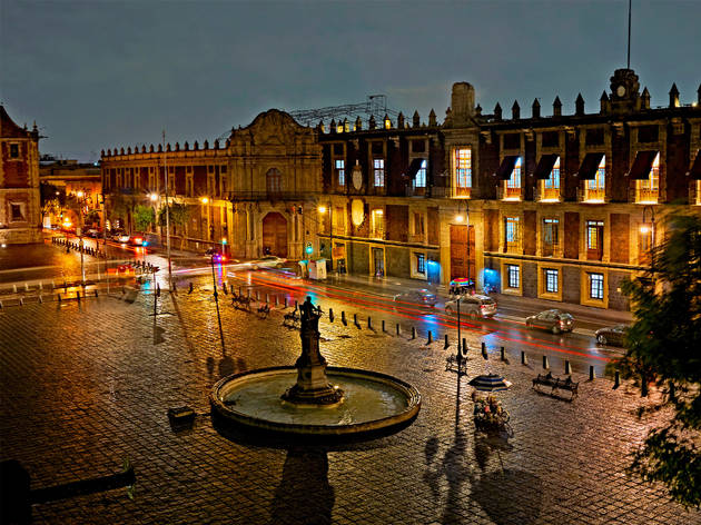 Plaza Santo Domingo (Foto: Iván Macías)