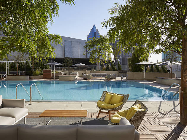 Soak in the sun at Sacramento's chic new rooftop pool and bar