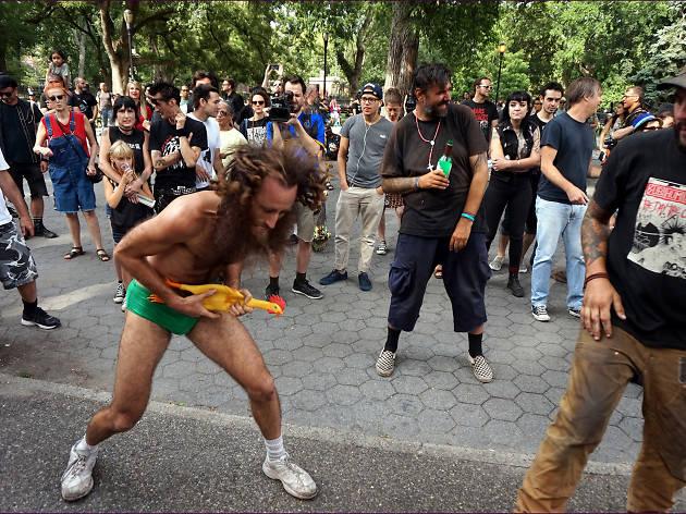 Tompkins Square Annual Riot Reunion