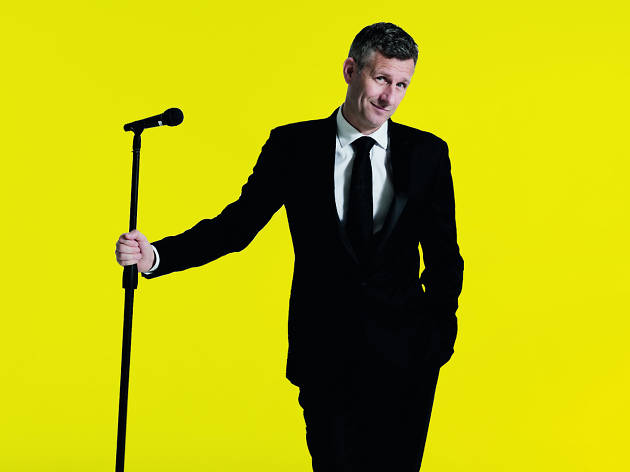Adam Hills: Best Foot Forward the Book Tour 2018 photo supplied