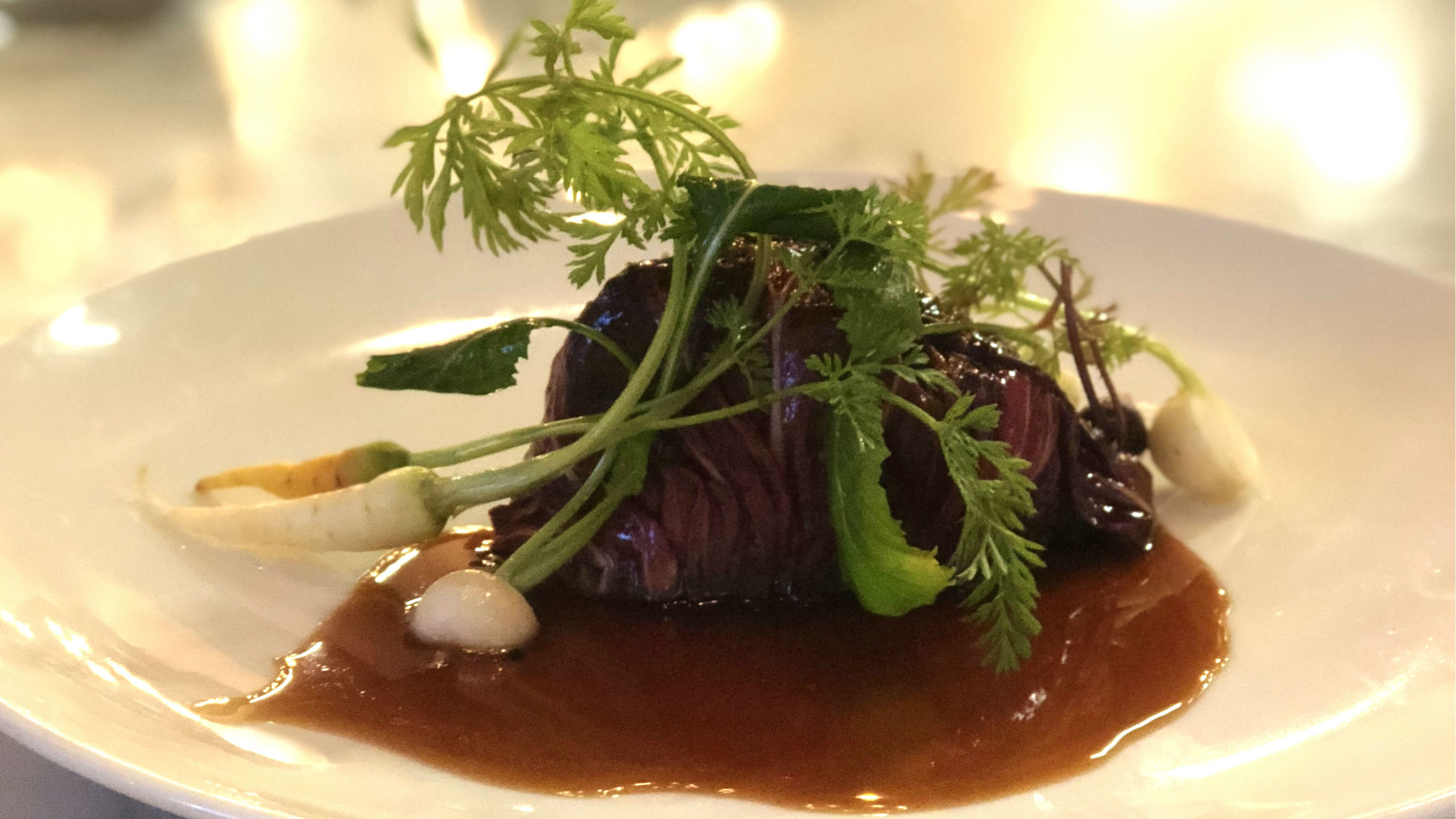 Wagyu beef cheek at Lot One
