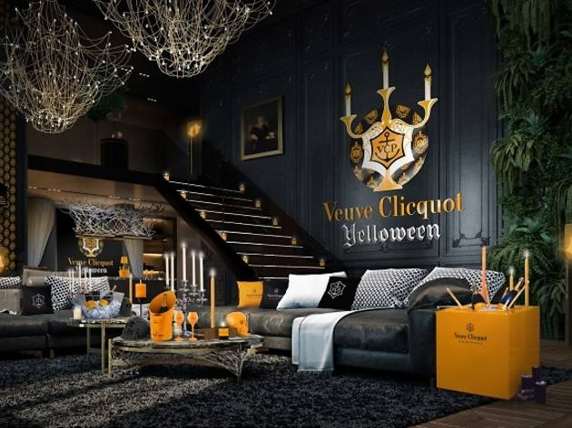 Veuve Clicquot Yelloween Bars And Pubs In Tokyo