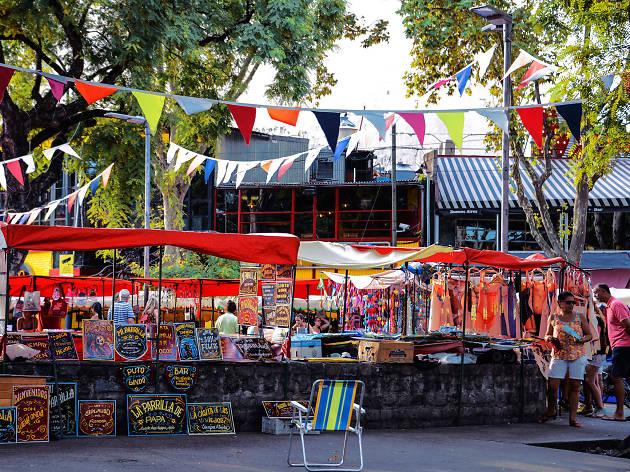 Feria de Plaza Serrano - Buenos Aires - Argentina