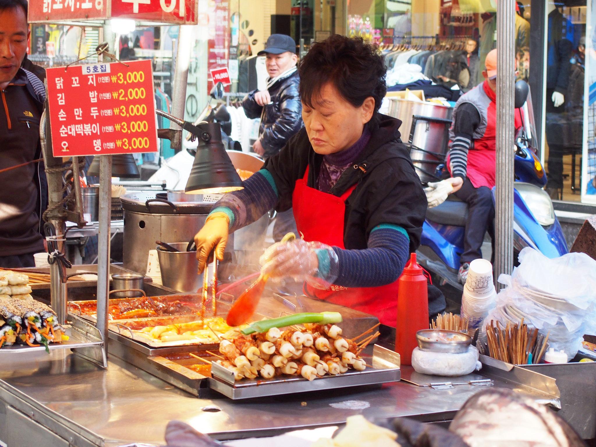 Gwangbokdong Food Street - Busan - Korea