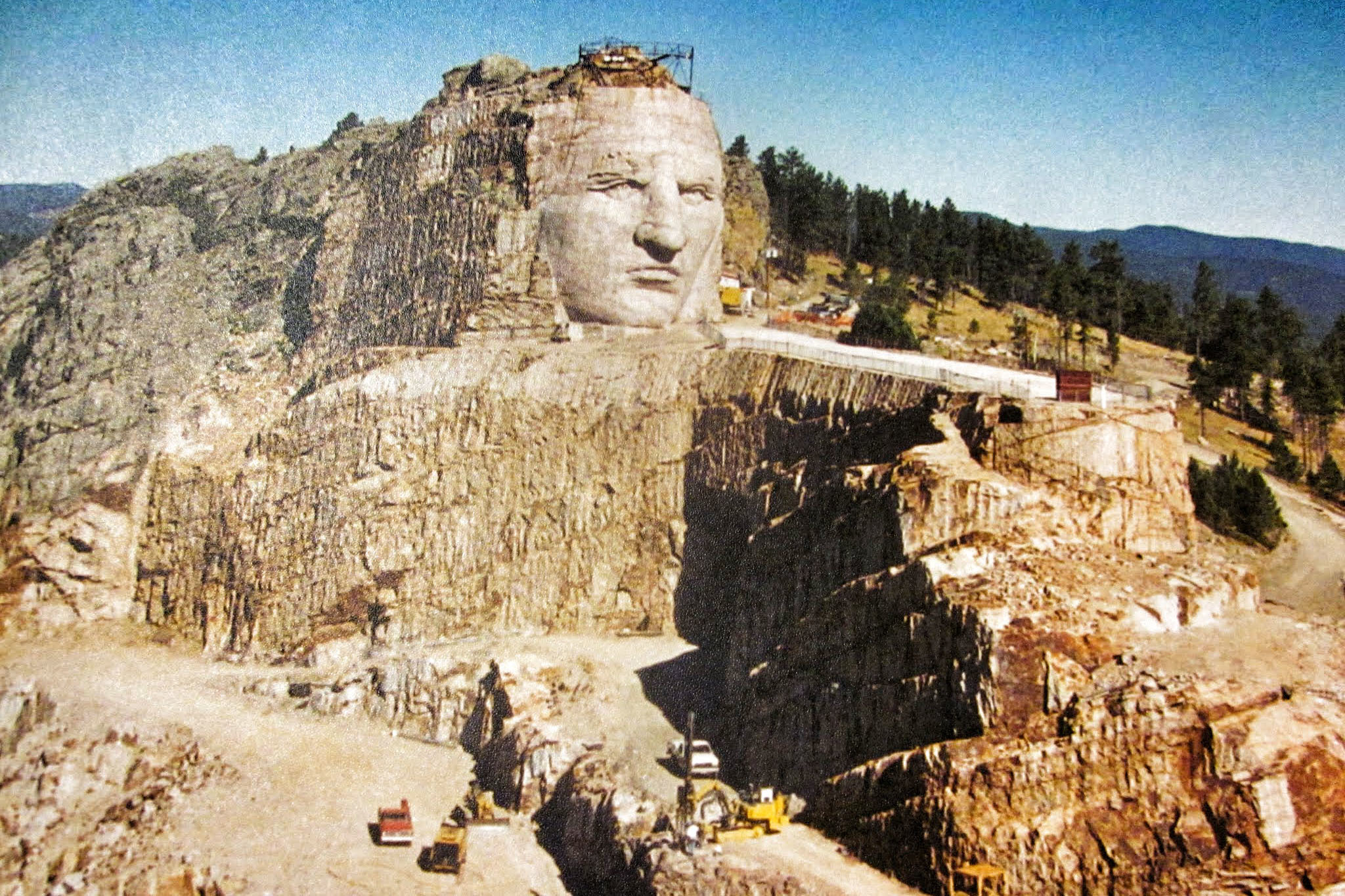 Crazy Horse Memorial, eitw