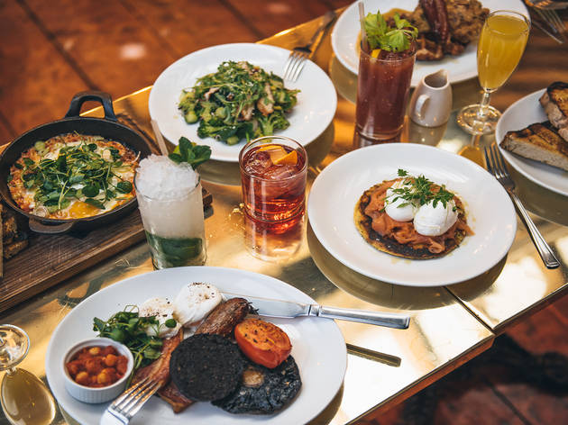 Bottomless food and drink at Dead Dolls House