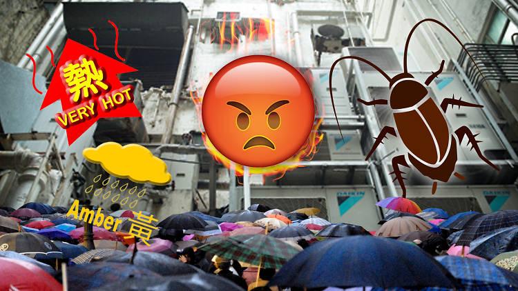Hong Kong summer rage