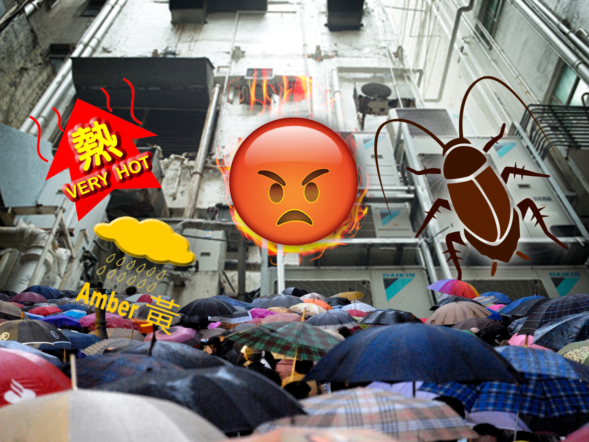 Eight things that make Hongkongers angry about summer
