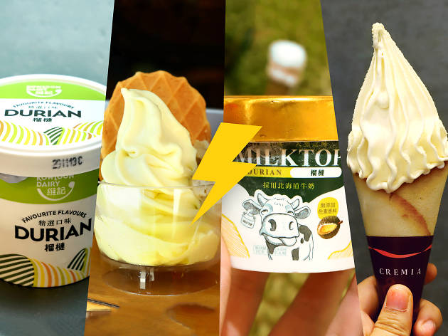durian ice cream battle