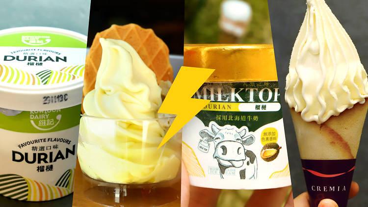 durian ice cream battle