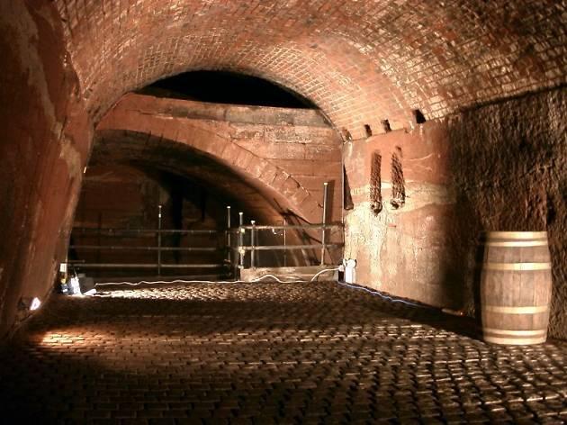 Williamson Tunnels, Liverpool, for Virgin Trains weird weekends feature