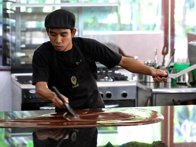 Bali Choklat's Pod Factory