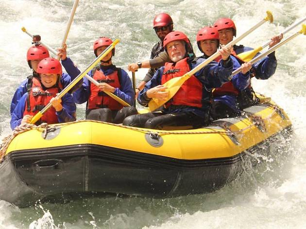 Tongaririo river rafting