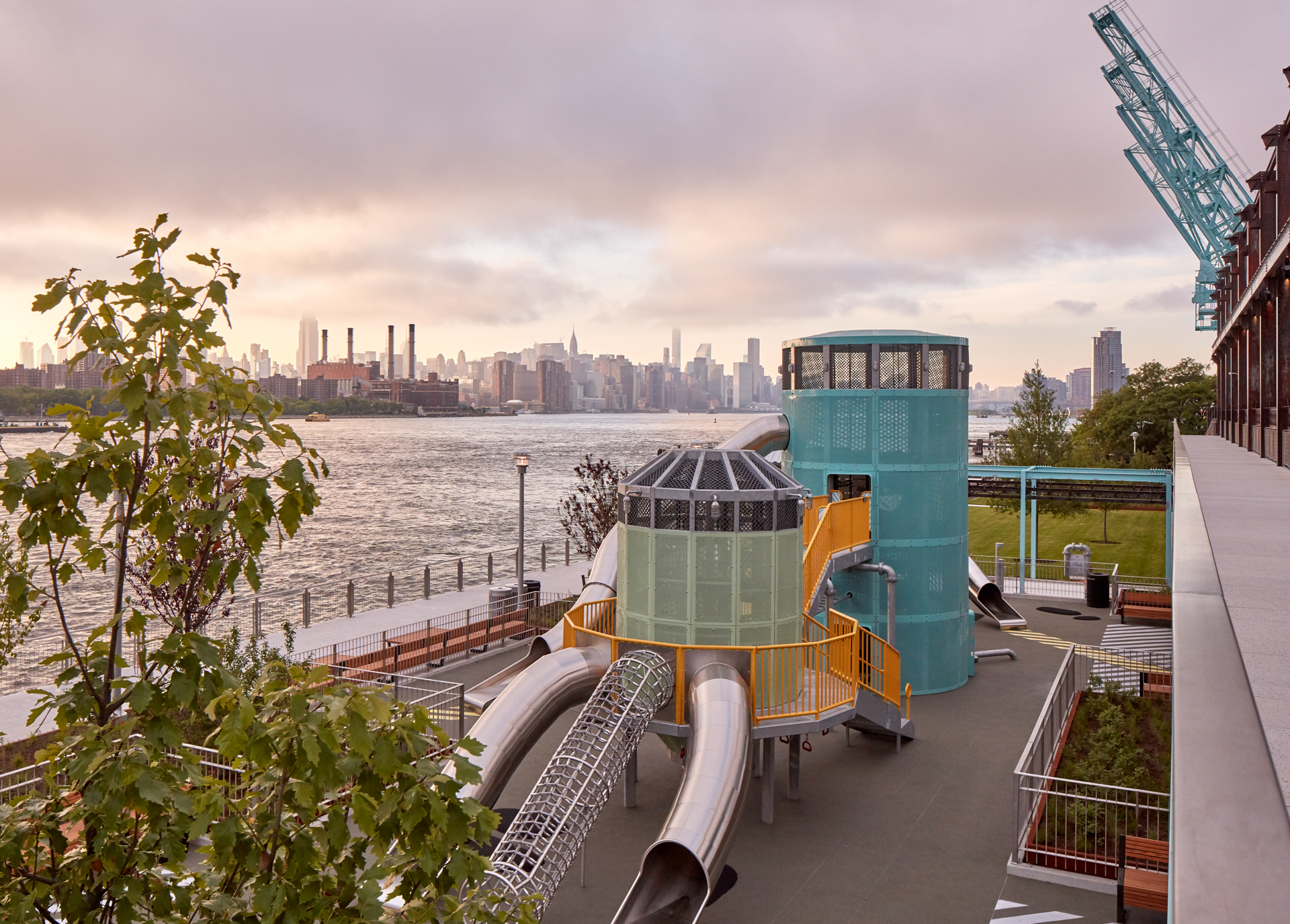 The coolest kids' playgrounds in NYC
