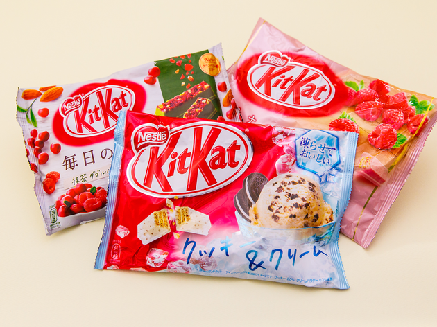 Kit-Kat assorted bags