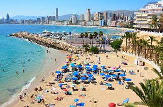 Playa de Poniente - Benidorm - Spain