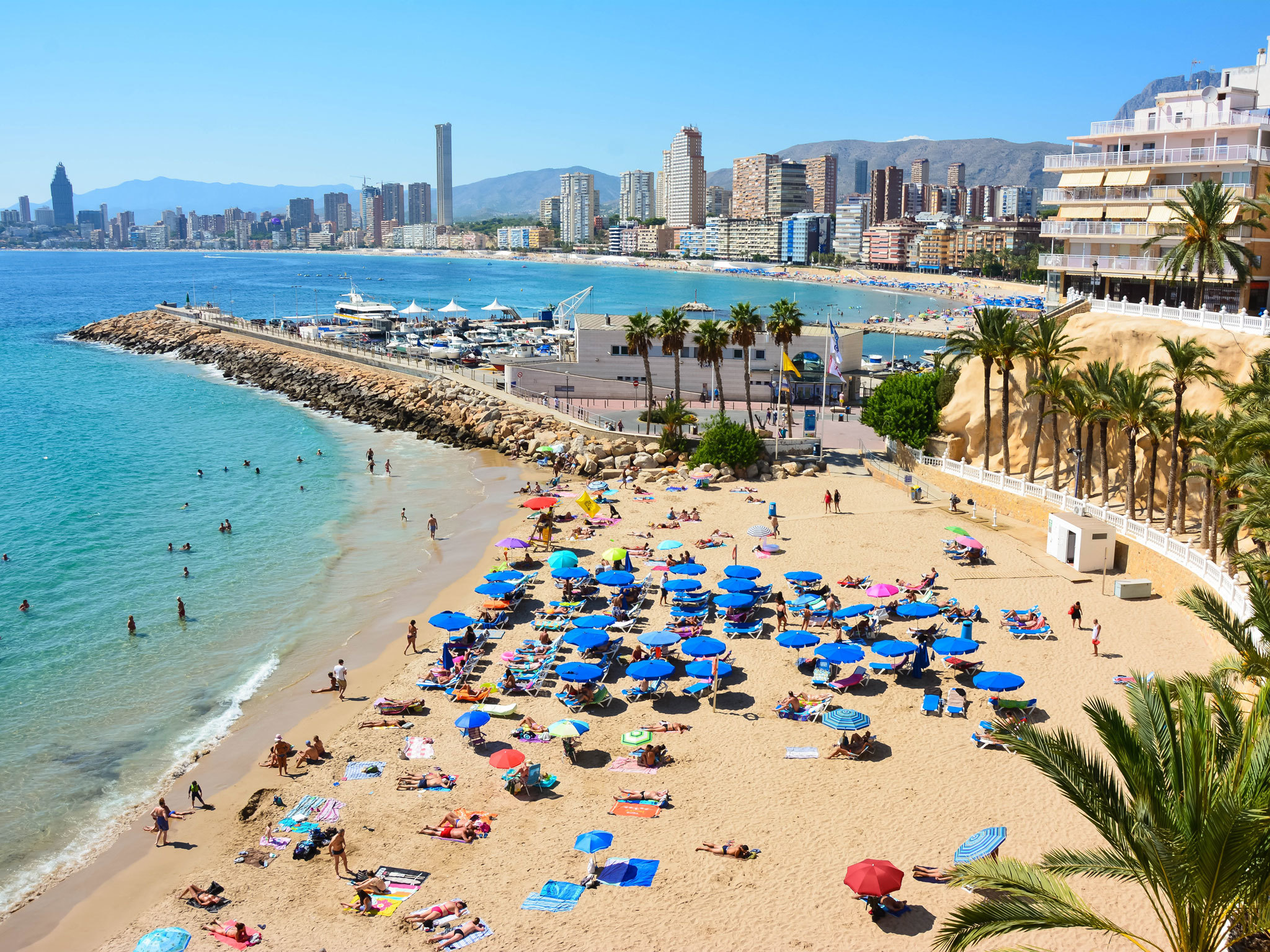 Playa de Poniente - Benidorm - Spain