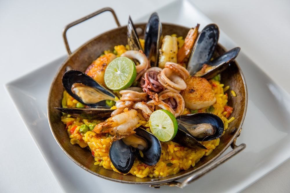 Paella at Fig & Olive