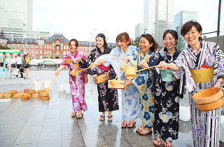 Marunouchi Summer Festival Uchimizu