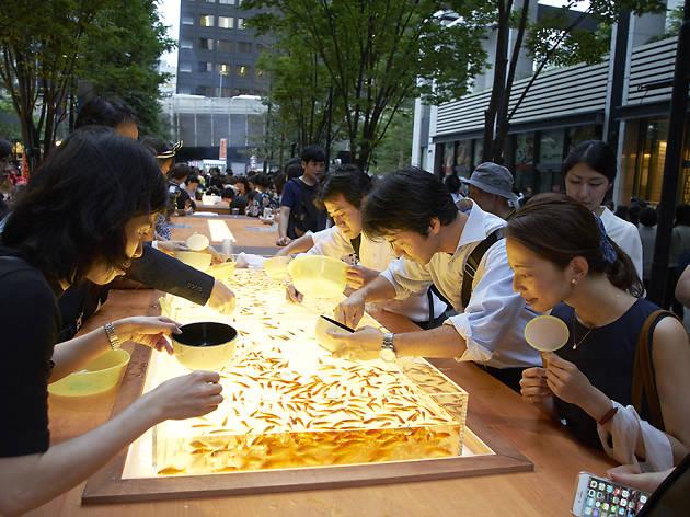 Marunouchi Summer Festival Kingyosukui