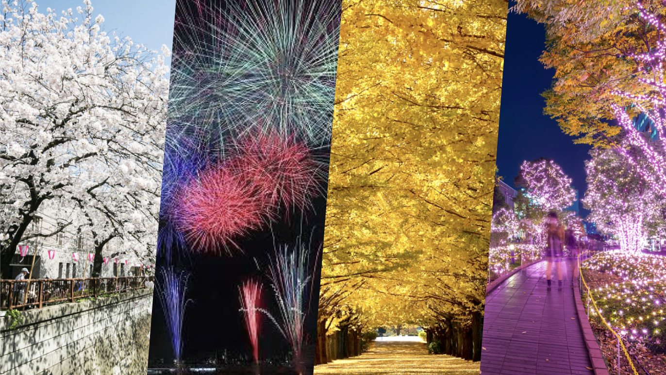 Guide to the four seasons in Tokyo