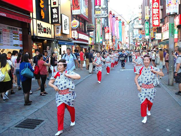 渋谷センター街 七夕まつり