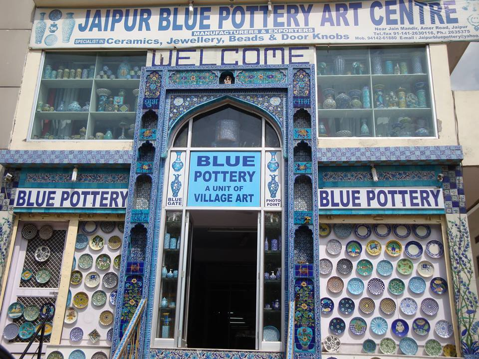Blue Pottery Art Centre