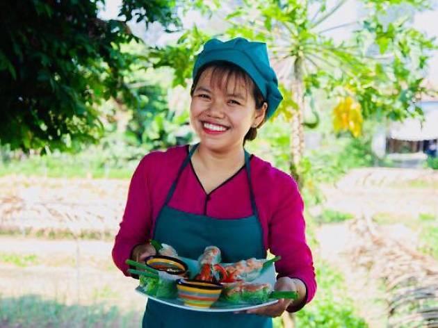 Tra Que Gardens Vietnamese Cooking School