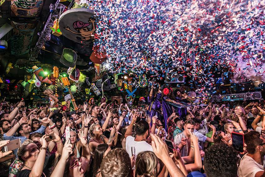 Elrow at Amnesia