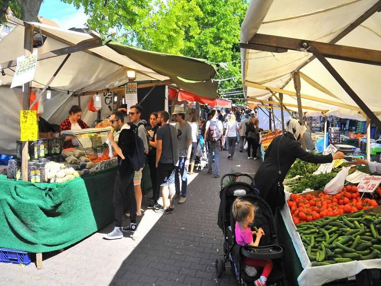 Wochenmarkt am Maybachufer