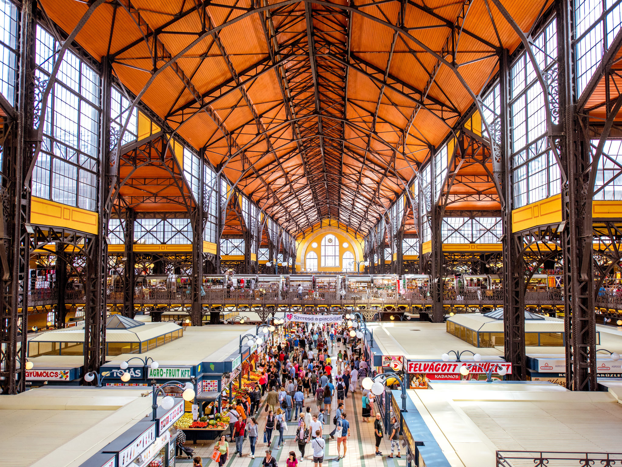 Great Market Hall - Budapest - Hungary