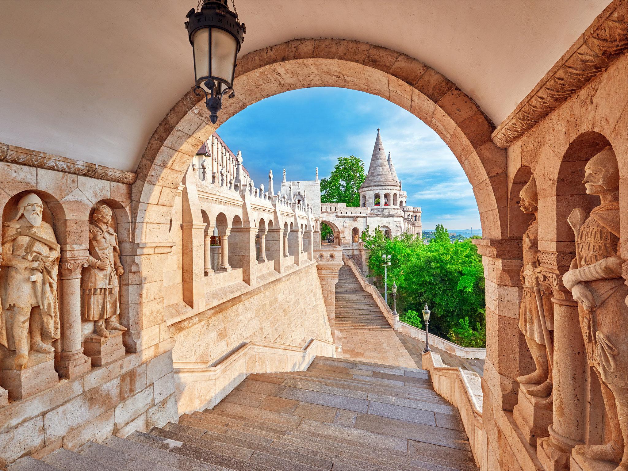 Buda Castle - Budapest - Hungary