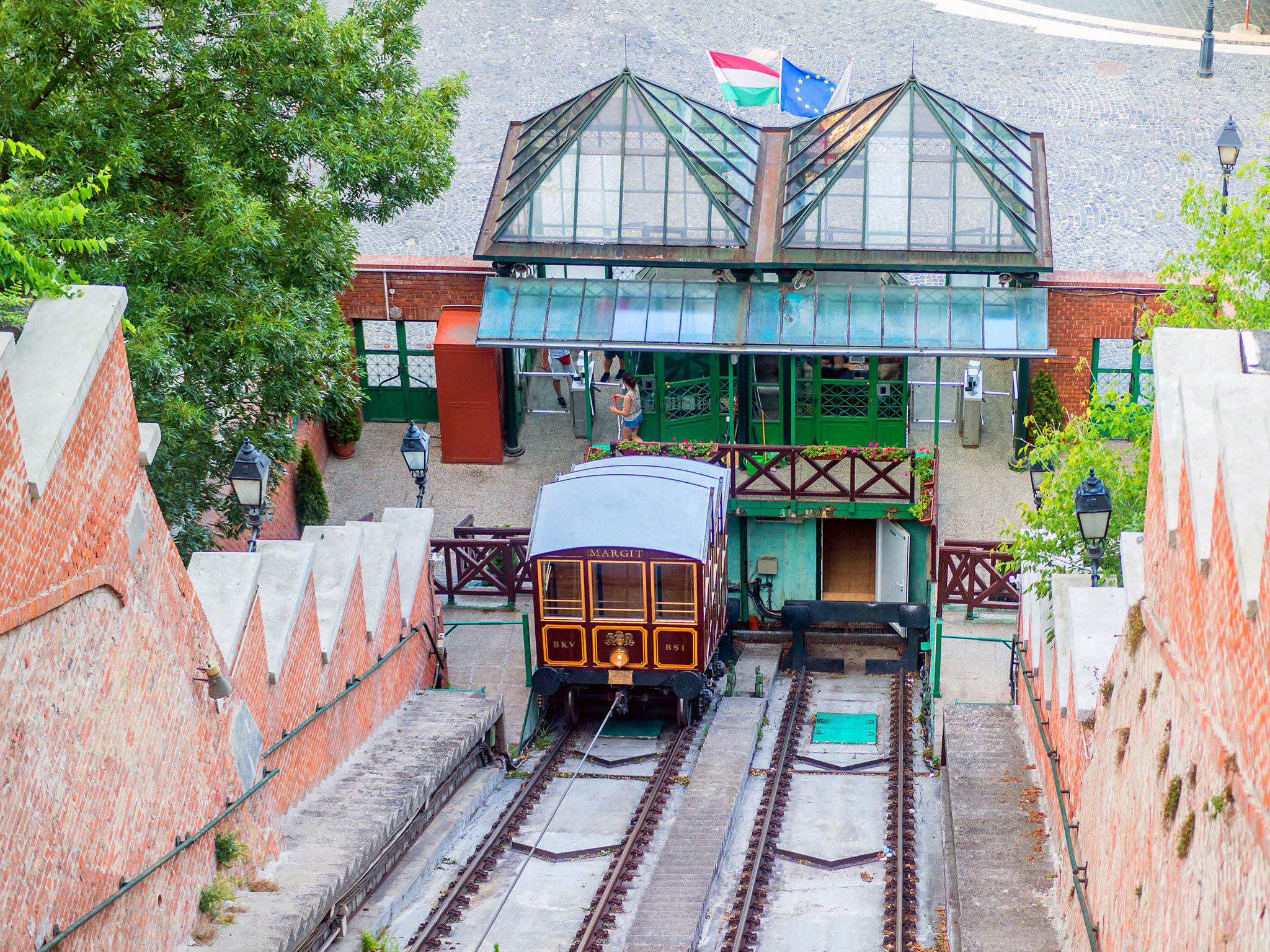 The Funicular - Budapest - Hungary