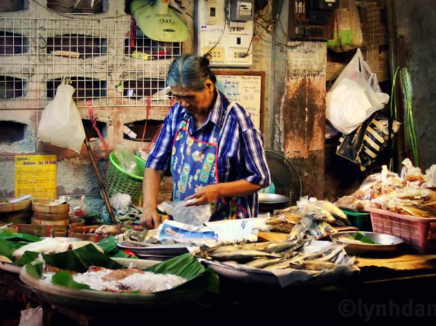 Naklua fish market
