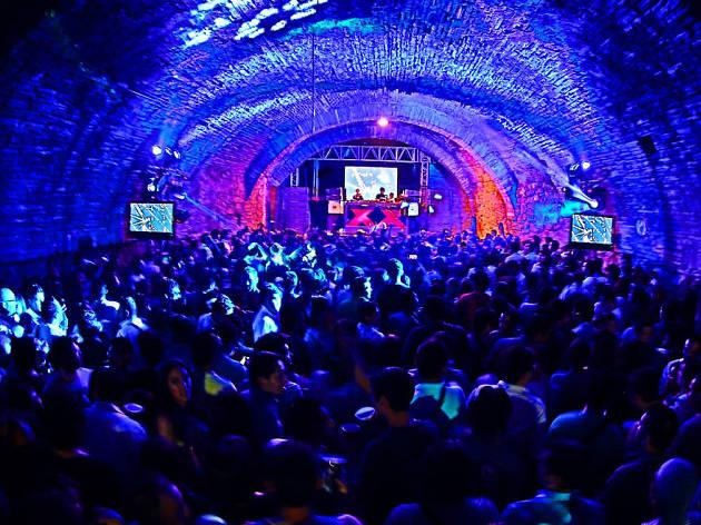 Túnel Diego Rivera en el GIFF
