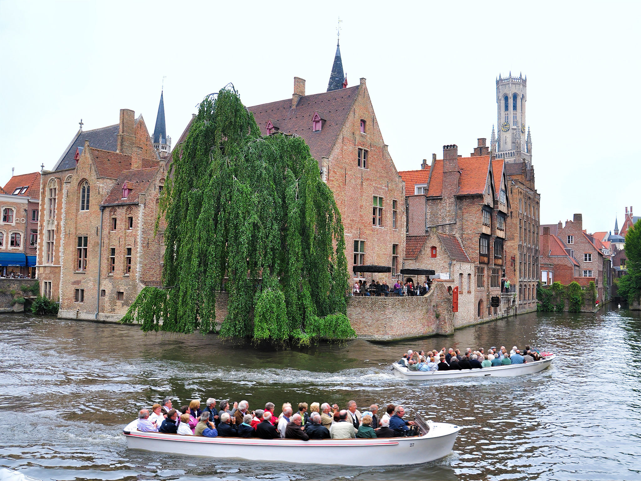 The canal - Bruges - Belgium
