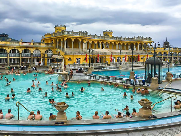 Szechenyi Spa Baths - Budapest - Hungary
