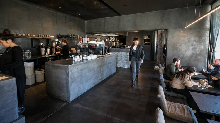 Inside at Edition Coffee Roasters