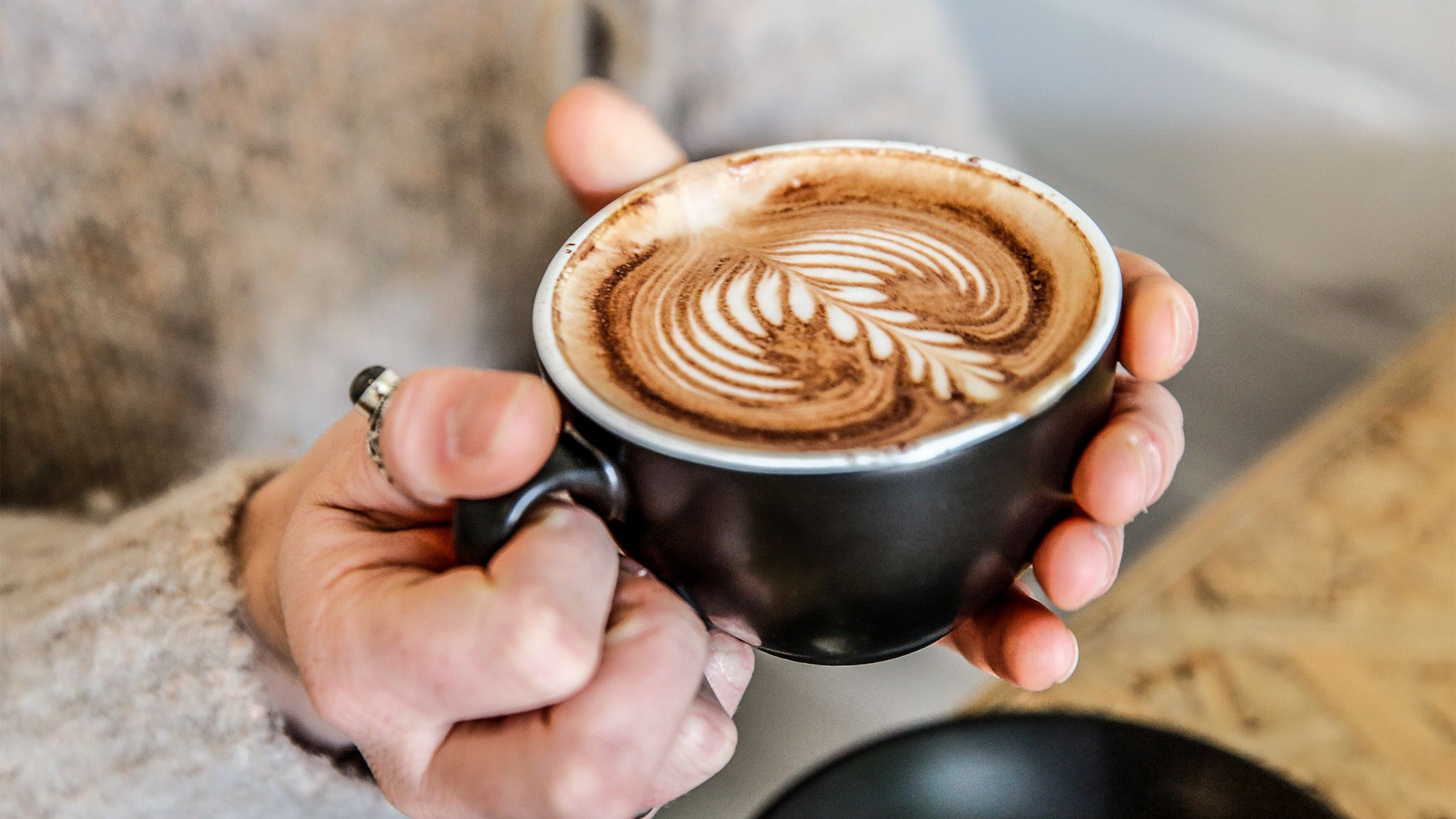 Coffee at Goodbye Horses
