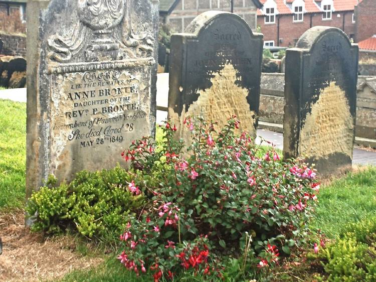 St Mary's Church and Anne Bronte's Grave