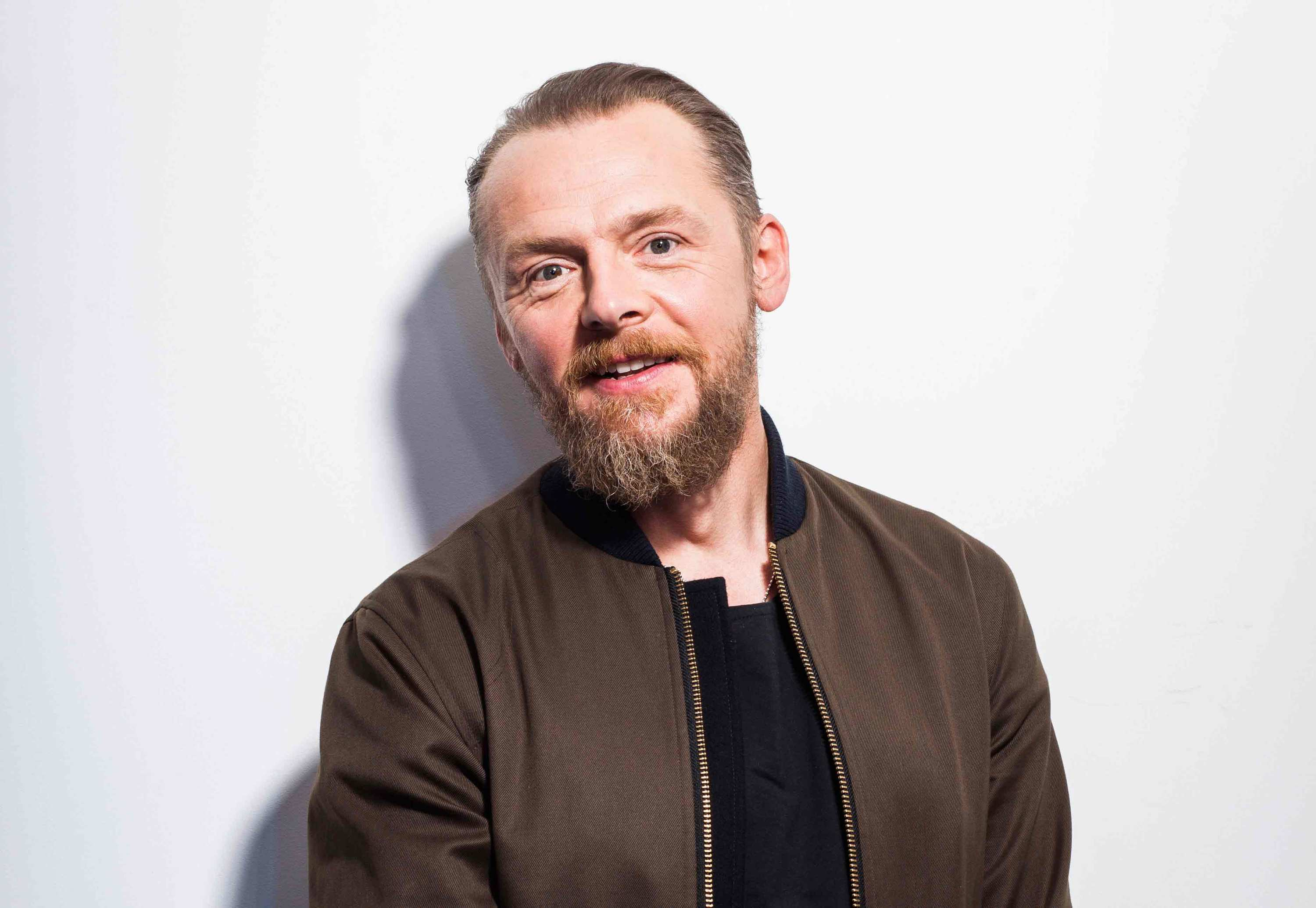 Simon Pegg: 'When Tom Cruise broke his ankle I sent him a box of my films'