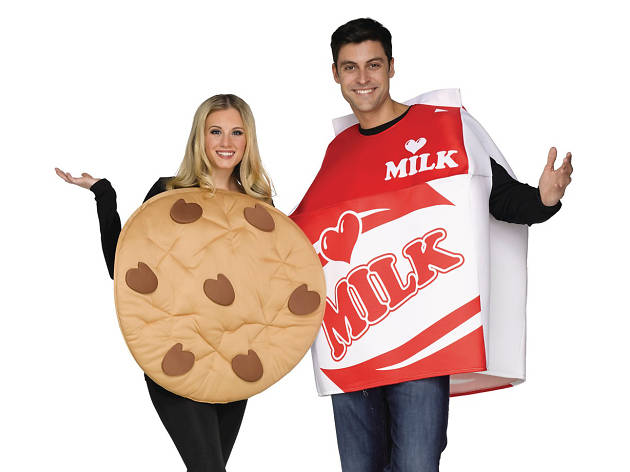 milk and cookies costumes for halloween