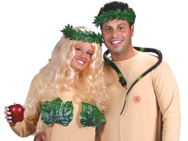 adam and eve couples costumes for halloween