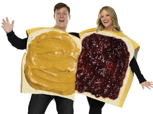 peanut butter and jelly costume for halloween
