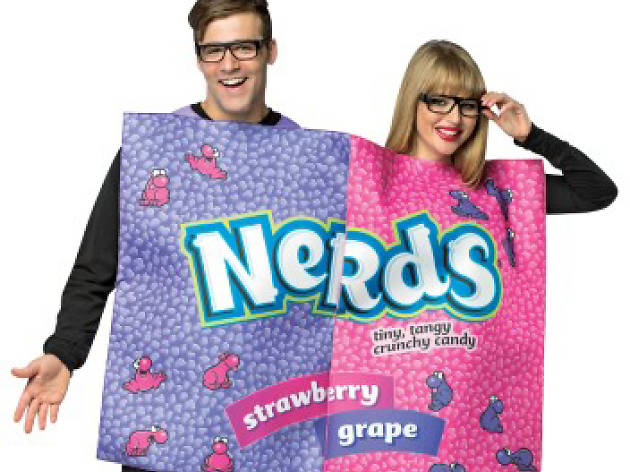 Nerds costume for halloween
