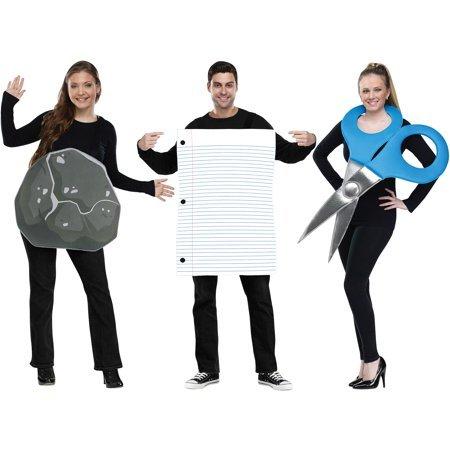 rock paper scissors costume for halloween