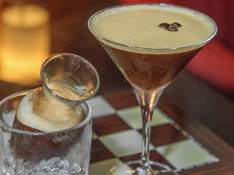 Espresso martini at Primo's