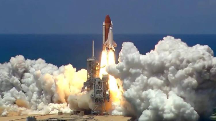 Lançamento Space Shuttle