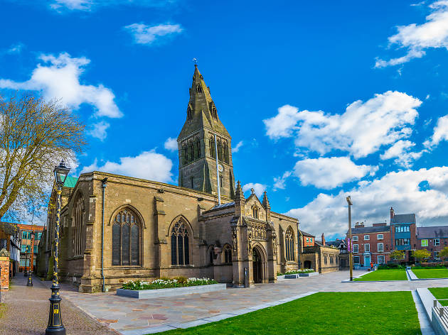 Leicester Cathedral, eitw